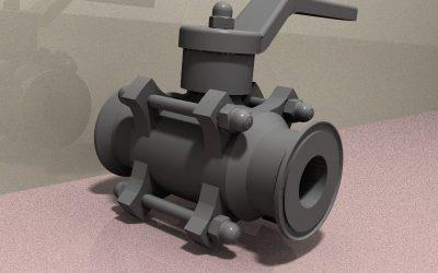 Proyecto de validación de diseño de válvula de bola