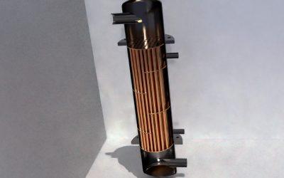 Análisis fluidodinámico de la transferencia de calor en un intercambiador carcasa-tubo