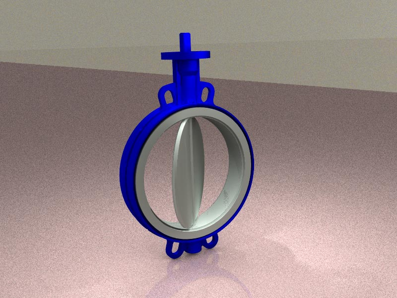 Structural validation of the 160 series butterfly valves from VAMEIN DE ESPAÑA S.A.