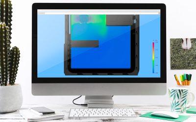 Análisis fluidodinámico del flujo de aire en el interior de la carcasa de un PC